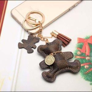 Accessories - Bear key chain/purse charm designer inspired